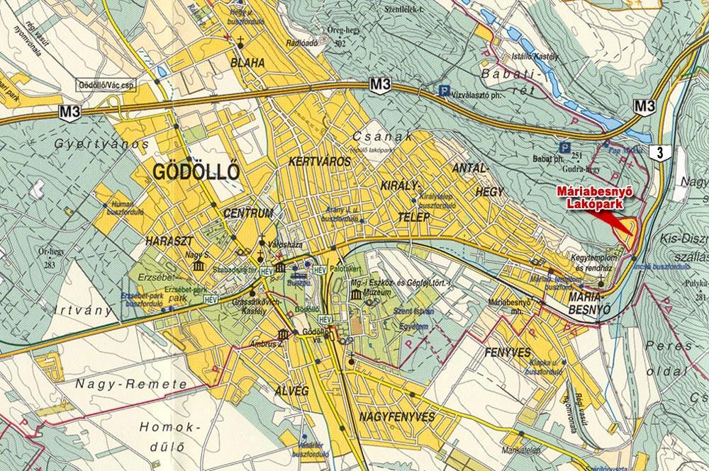 gödöllő térkép MÁRIABESNYŐ LAKÓPARK   Gödöllő térkép gödöllő térkép